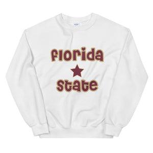 *Any College* Star Slogan Crewneck