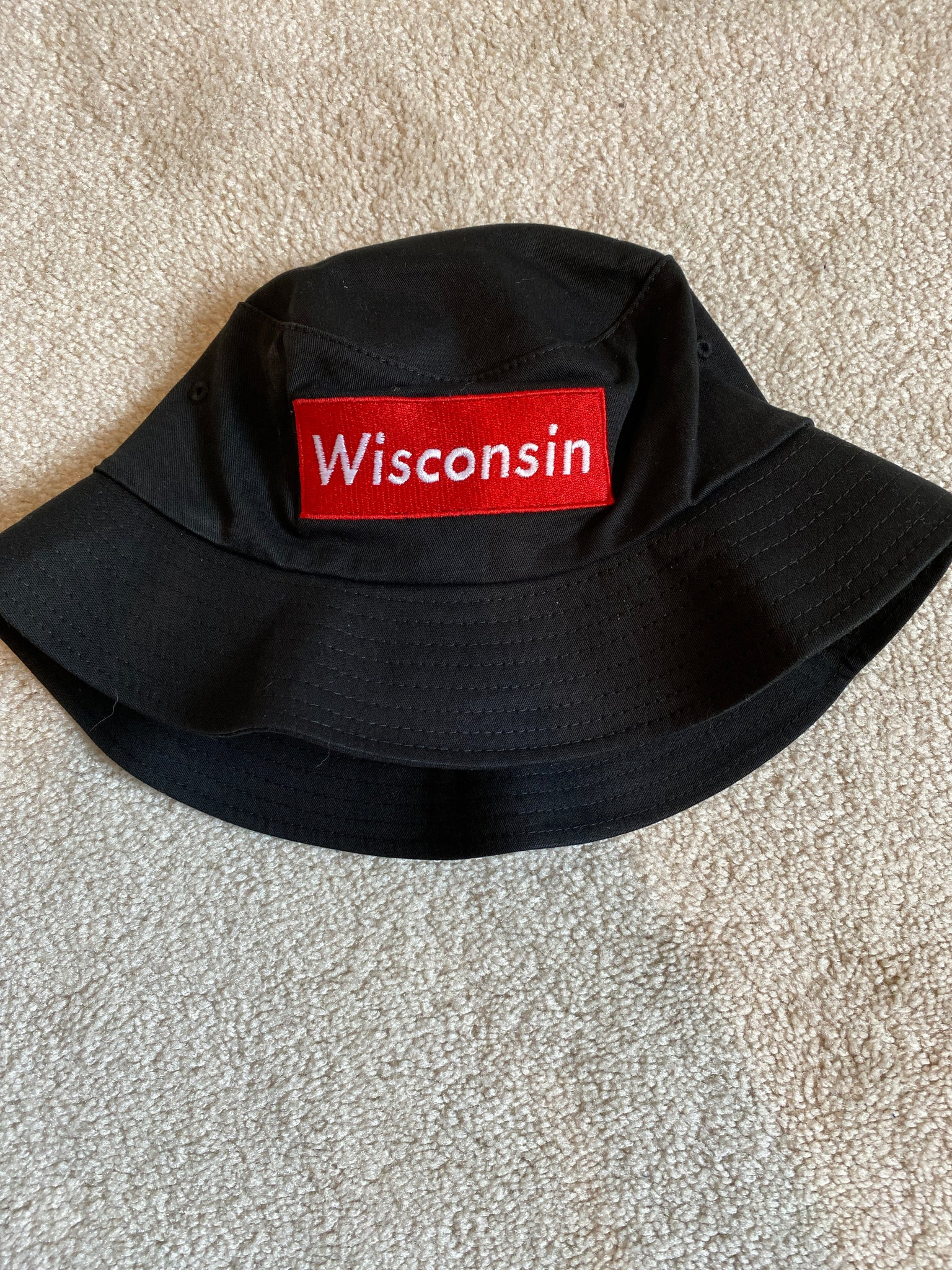 Wisconsin Patched Bucket Hat