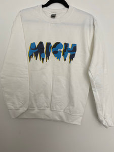 Michigan Camo Drip Sweatshirt