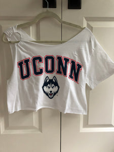 UConn O-Ring Crop top