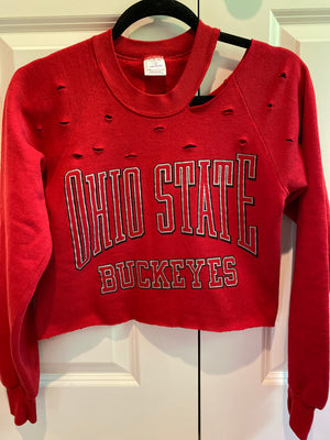 OSU Cropped Sweatshirt