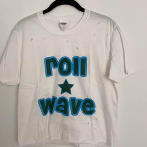 Load image into Gallery viewer, Tulane Star Slogan Distressed Tee