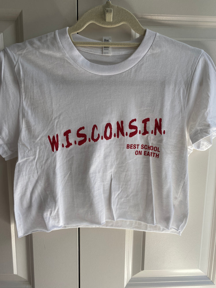Wisconsin Dare Crop Tee