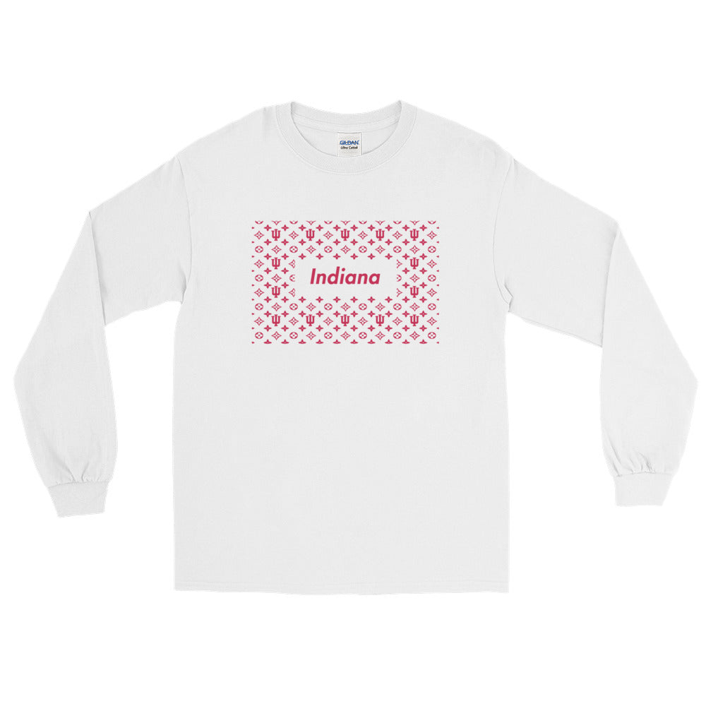 LV x Supreme Long Sleeve Tee