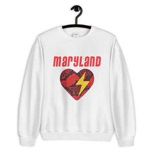 Load image into Gallery viewer, *ANY SCHOOL* Snakeskin Heart Crewneck