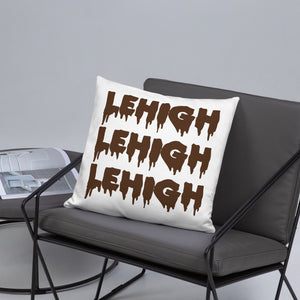 Drip Letters Pillow