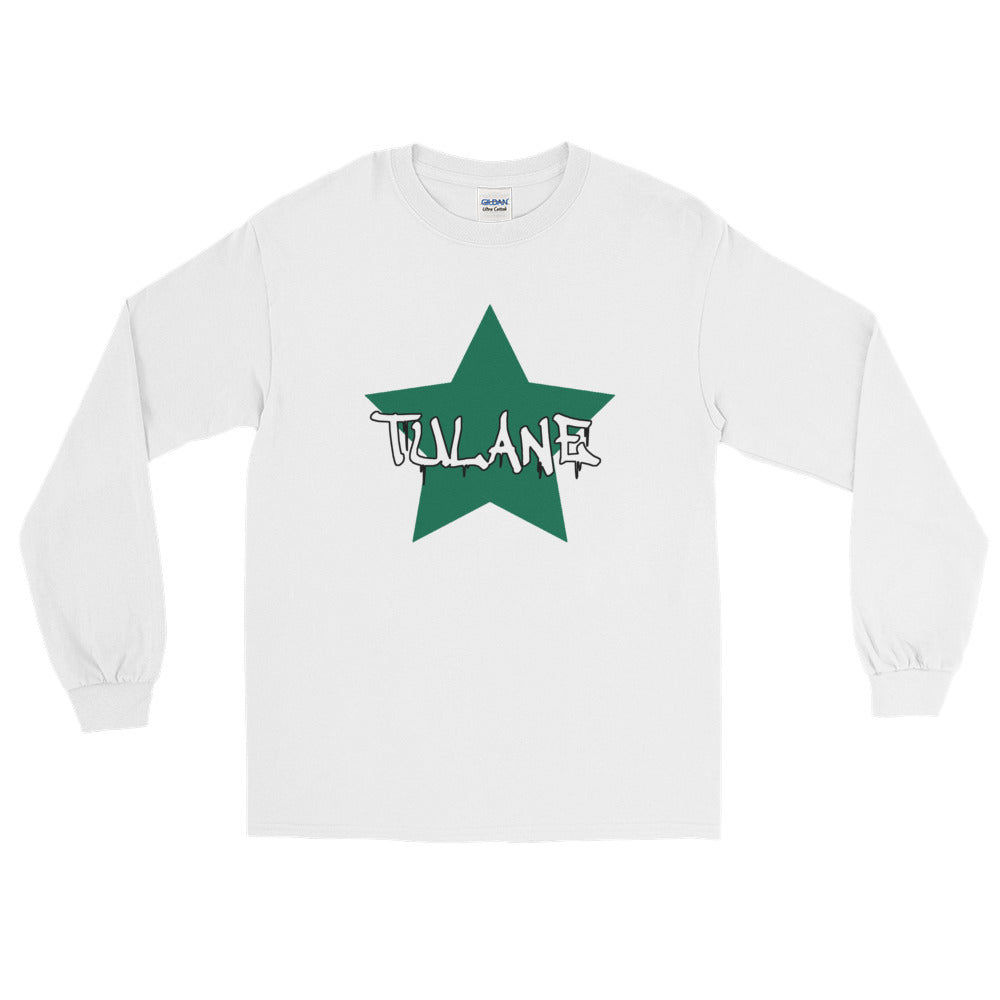 *Any College* Big Star Long Sleeve Tee