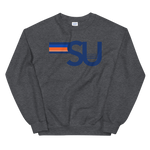 *Any College* 5 Strip Crewneck Sweatshirt