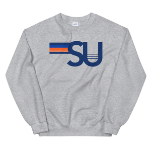 Load image into Gallery viewer, *Any College* 5 Strip Crewneck Sweatshirt
