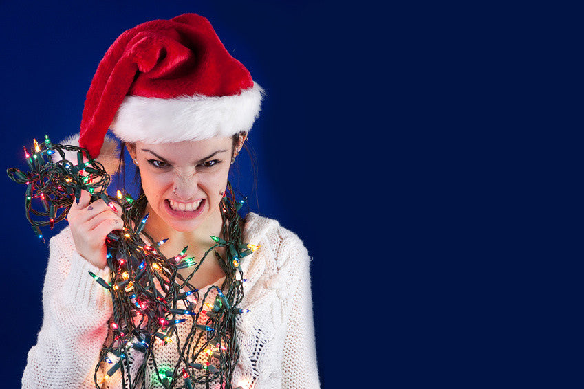 Holiday Stress is a Thing!  Nine Stress Busters Get you Through It!