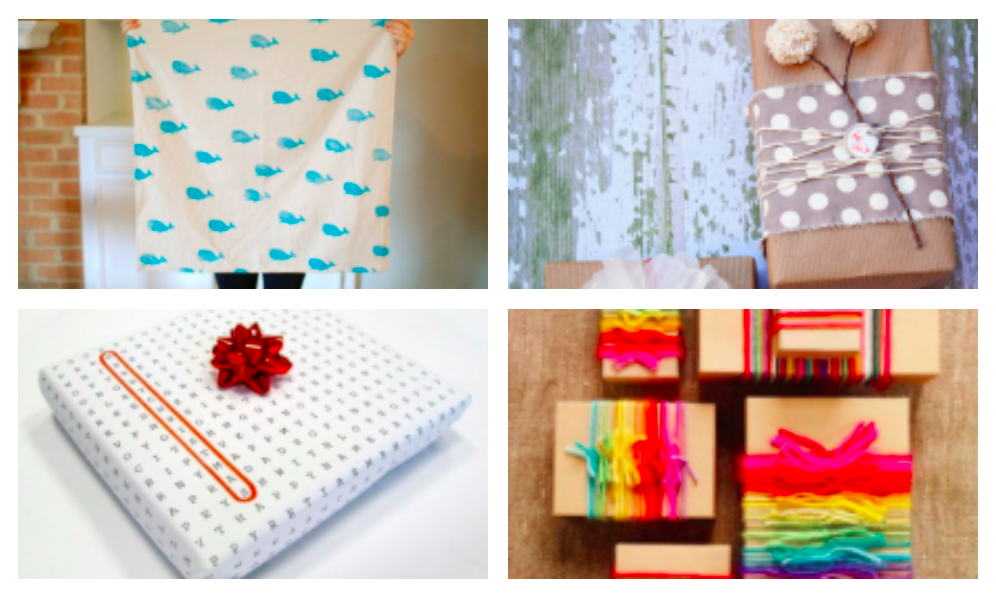 That's a Wrap!  Crafty Solutions to the Gift Wrap Conundrum