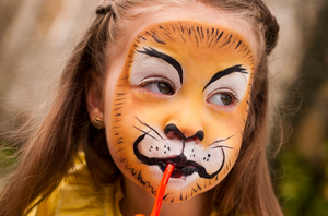 Noah's Ark Face Paint Tutorials for Halloween