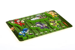 Fun & Unique Football Sport Chunky Wooden Puzzle w/