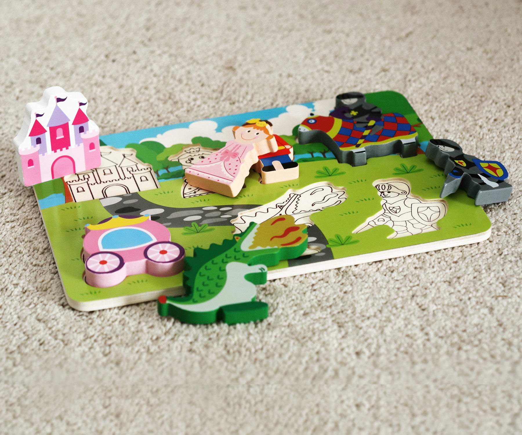 Castle Puzzle Educational Toddler Toys