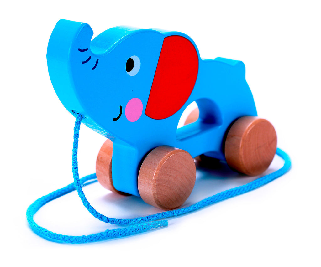 Push Toys For Toddlers : Elephant pull along buy toddler wooden toy cheap kids toys