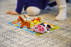 "Image of Fun Barnyard Farm Animals Chunky Wooden Puzzle with ""Easy-Hold"" Colorful Solid Wood Pieces"