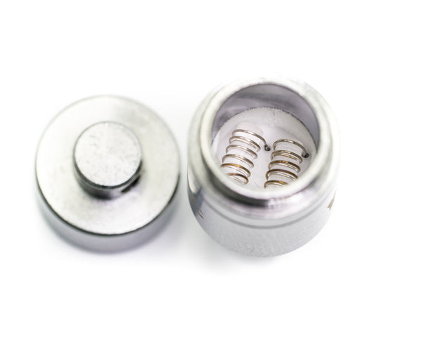 Evolve Replacement Coils and Caps (Pack of 5)