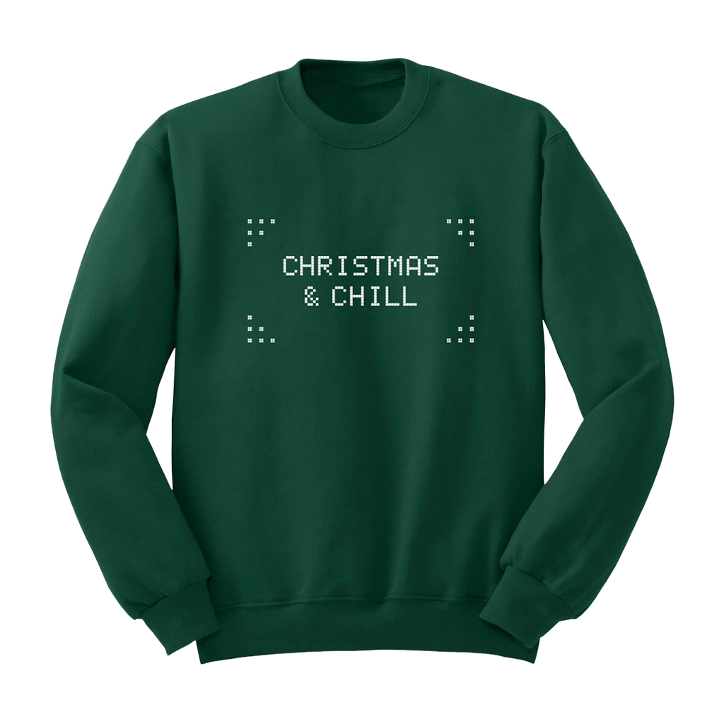 Christmas And Chill.Christmas Chill Sweater Is Now Available For Sale