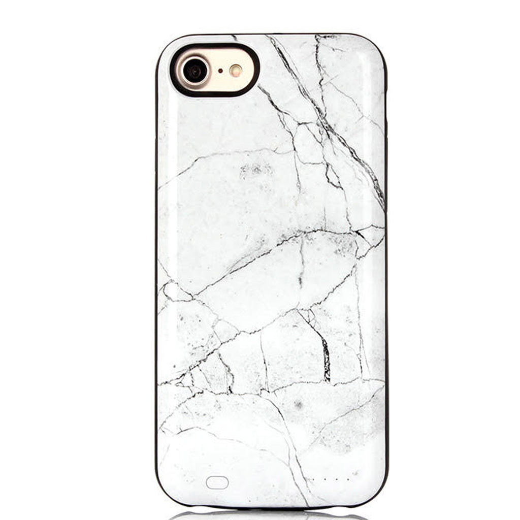 finest selection 80d9d 61be9 White Marble Charging Case – EnchantedCovers