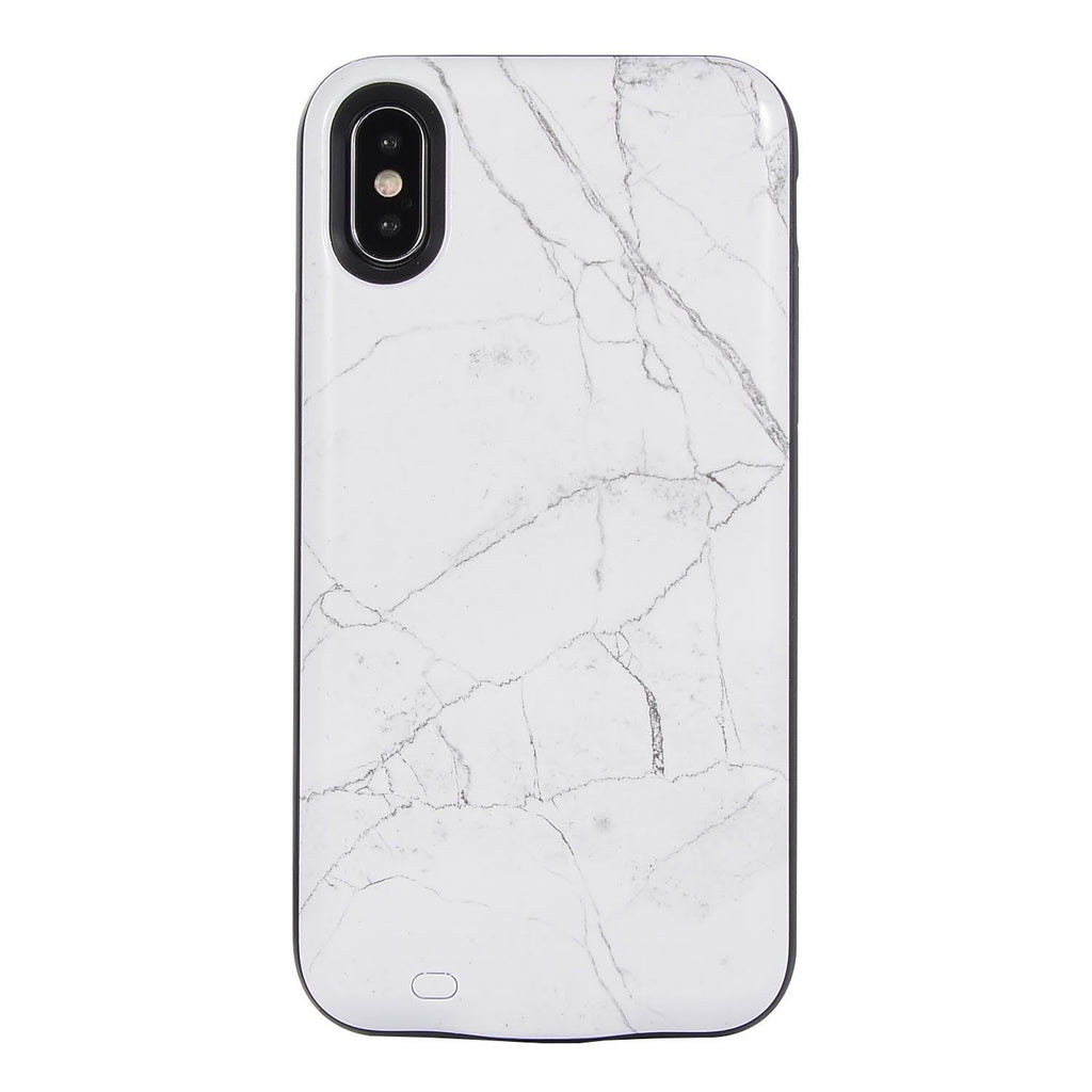 finest selection fcfbc 85323 White Marble Charging Case – EnchantedCovers