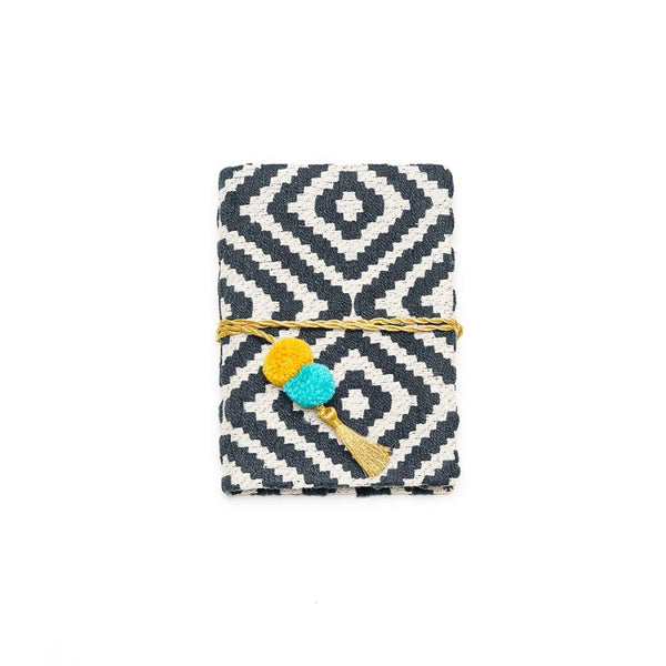 Hana Pom Pom Journal - Black - Matr Boomie
