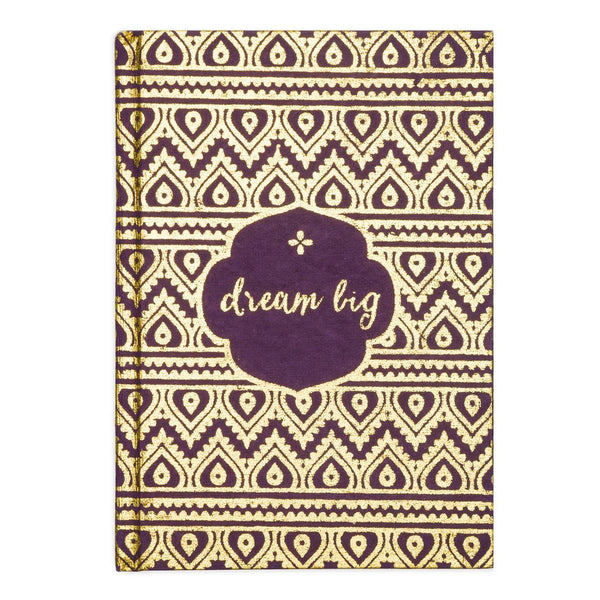 Metallic Message Journal - Dream Big - Matr Boomie (J)