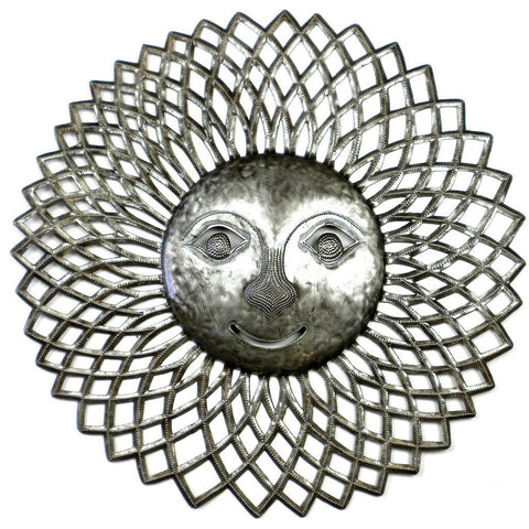 Radiant Sun Metal Wall Art - Croix des Bouquets