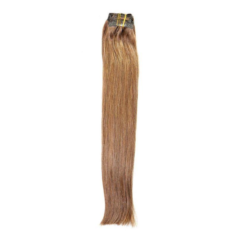 20 Inch Chestnut Brown Clip-In Extensions