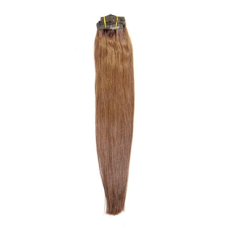 20 Inch Chocolate Brown Clip-in
