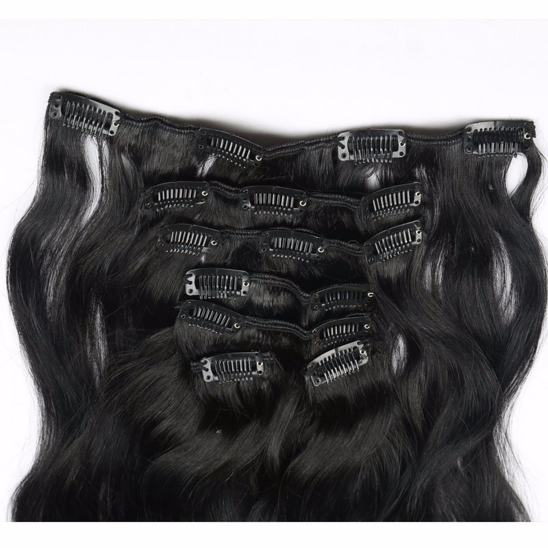 Diamond Clip In Hair Extensions