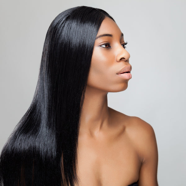 Straight full lace wig