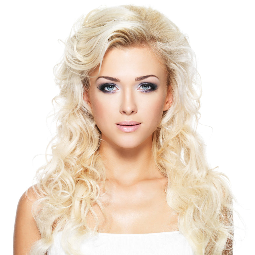20 Inch Platinum Blonde Clip-in Hair Extensions & Wigs In London Ontario