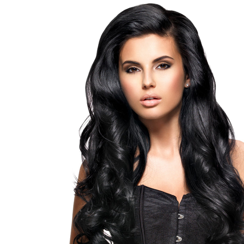 20 Inch Natural 1B Clip-in Hair Extensions & Wigs In London Ontario