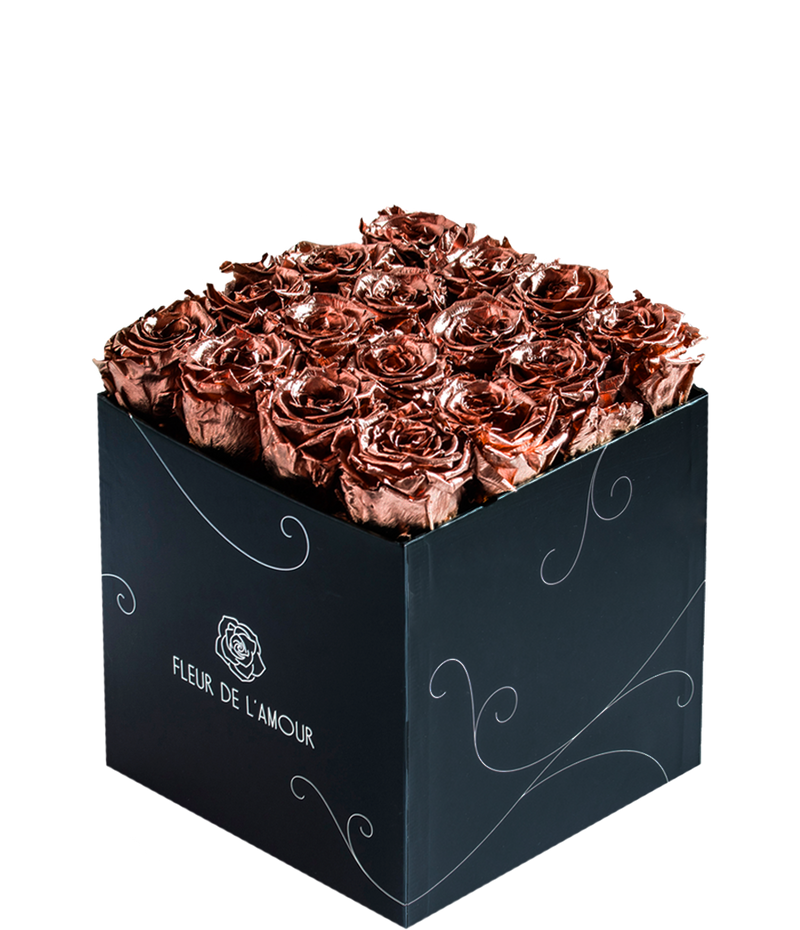 Metallic Everlasting Bloom Seize - Black Box - Guaranteed to Last Years