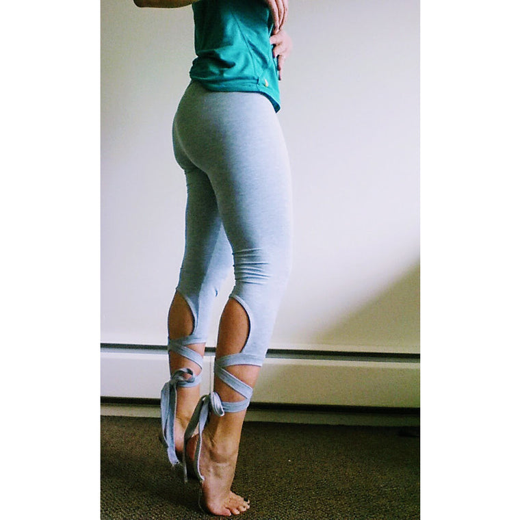 Tied-up Capri Leggings
