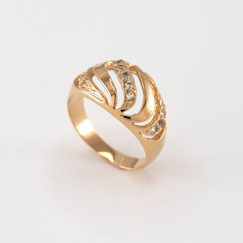 Farah White Topaz Band