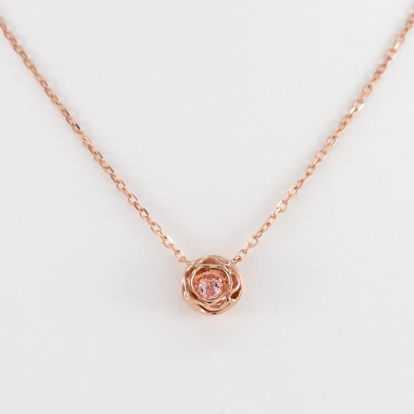Wendy Morganite Necklace