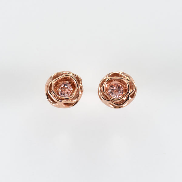 Morganite earrings Jocelyn