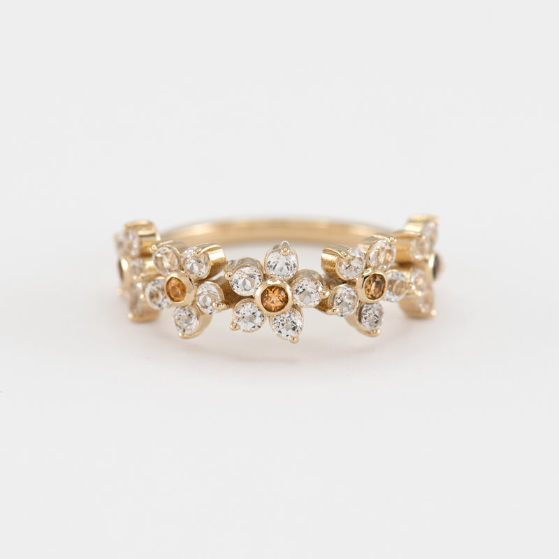 Camille Topaz Ring front view