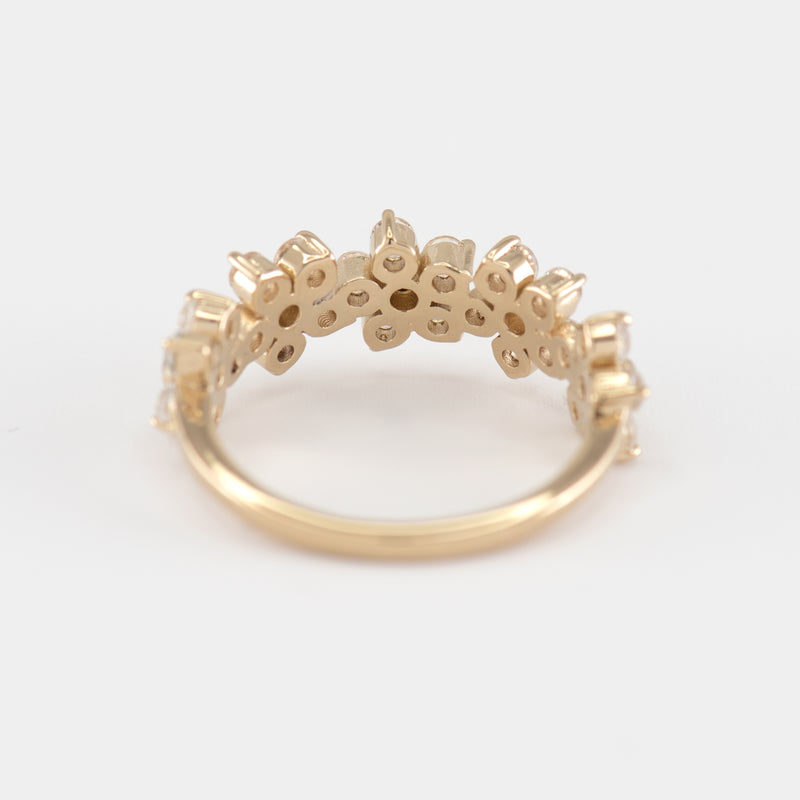 Camille Topaz ring back view