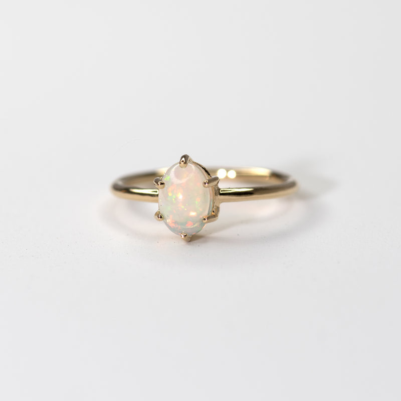 Everly Opal Gold Ring