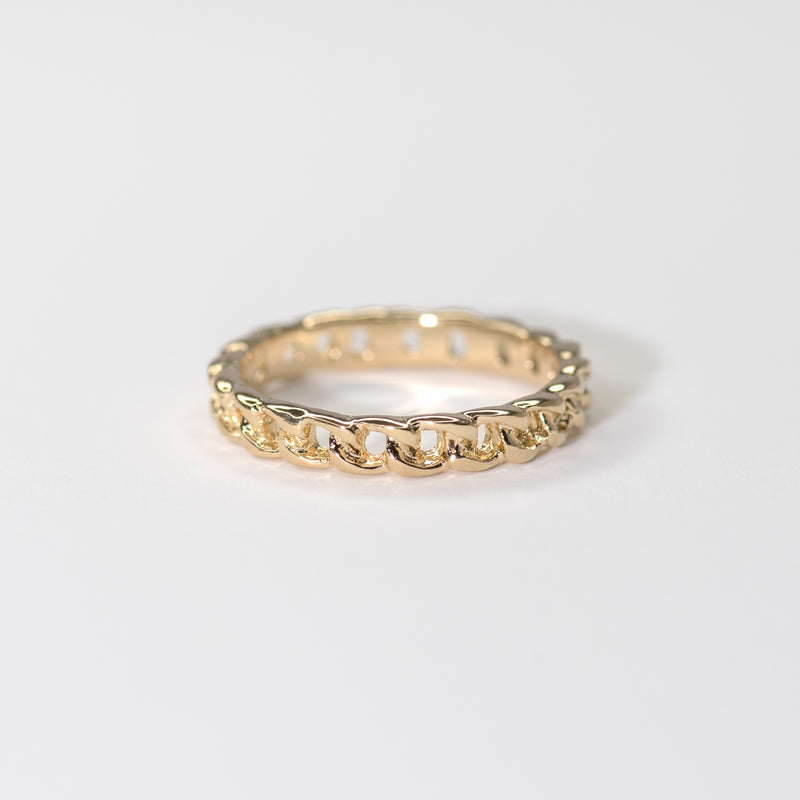Mimi Yellow Gold Ring