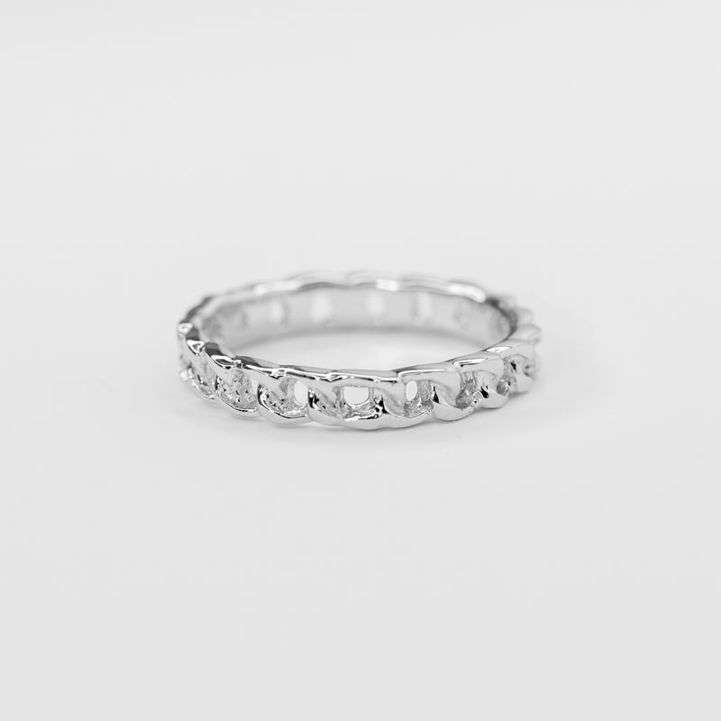 Mimi White Gold Ring