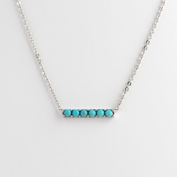 Turquoise White Gold necklace Kira