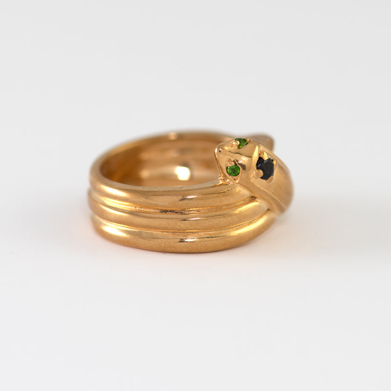Belinda Gold ring alt view