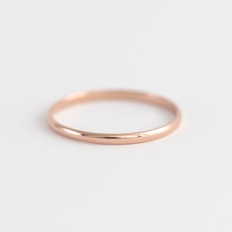 Rose Gold ring Ivy
