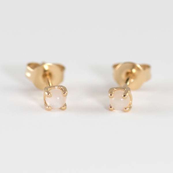 Avery Moonstone Earrings