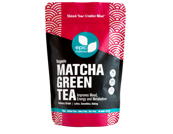 Culinary Grade Matcha from Japan (4 oz / 60¢ per serving)