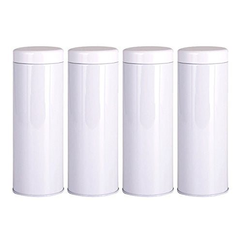 Airtight Tea Containers (Natsume) - 4 Pack