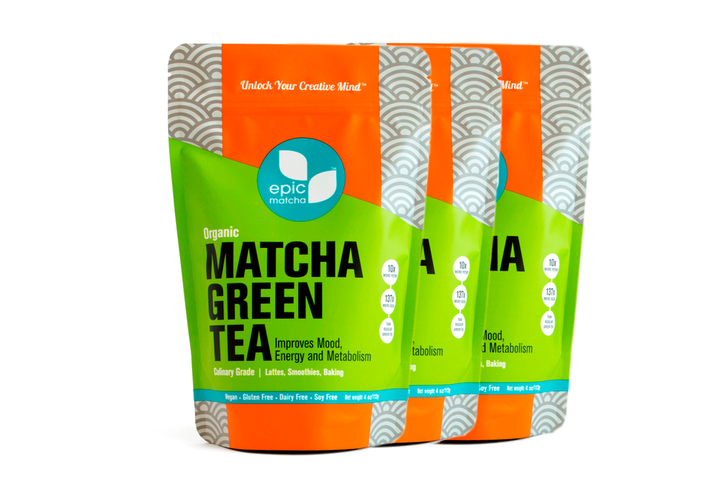 Culinary Grade Matcha from China - 4 Ounces (Pack of 3)